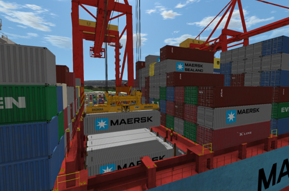 port crane simulator