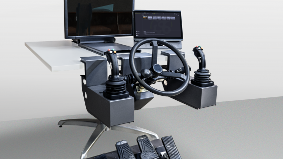New Heavy Equipment Simulator Provides Expandable, Affordable All-in-one Operator Training