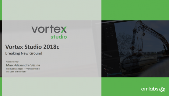 On-Demand Demo: Vortex Studio 2018