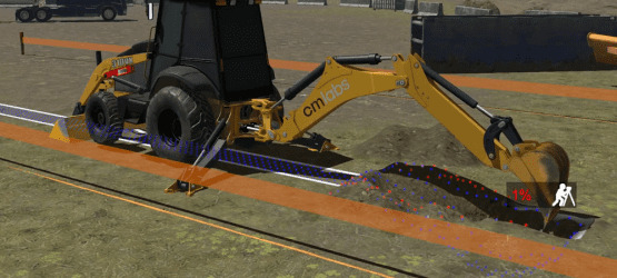 Video: CM Labs' Backhoe Simulator Training Pack
