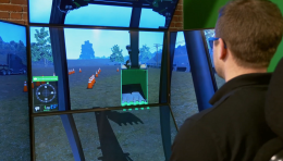 Video: CM Labs' Excavator Simulator Training Pack