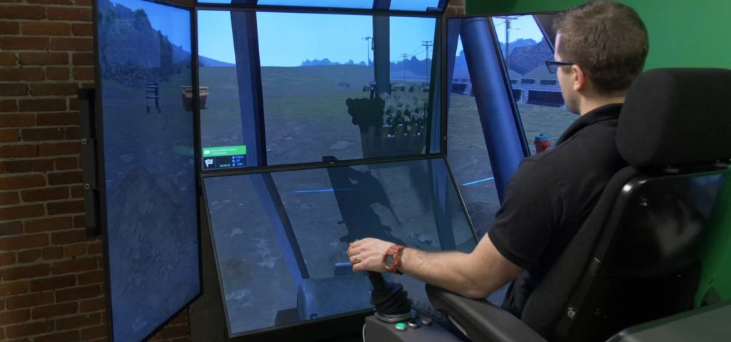 Does Simulation-based Training Improve Operator Safety?