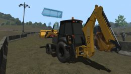 CM Labs Releases Update for Vortex Backhoe Simulator Training Pack