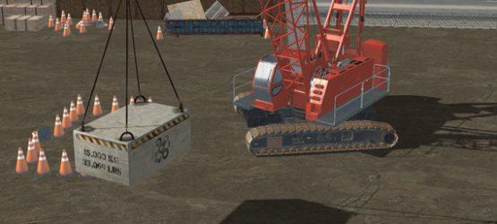Crawler Crane Simulator Training Pack Video