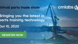 Pivoting to virtual trade shows, CM Labs is bringing the latest innovations in ports training technology to the industry online on Oct 15