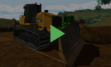 Dozer Simulator Video