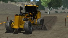 CM Labs Simulations Releases New Motor Grader Simulator Training Pack