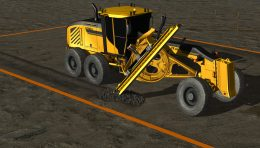 Motor Grader Simulator Video