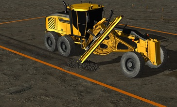 Motor Grader Simulator Training Pack Datasheet