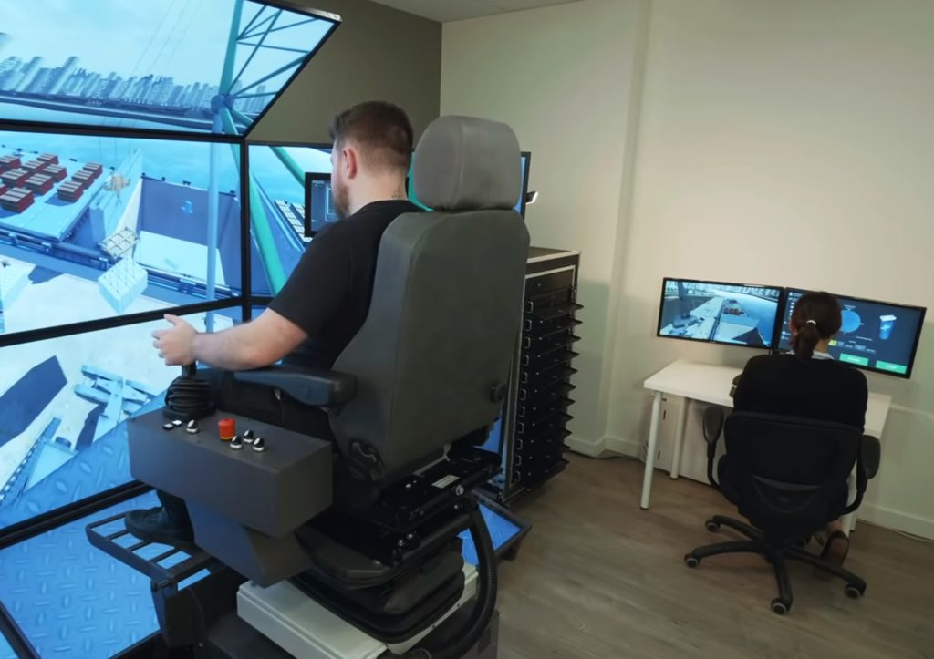 Instructor Operating Station: A Remote Solution for Managing Port Crane Operator Training