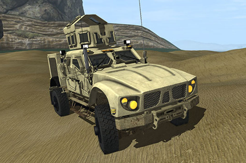 defense vehicle