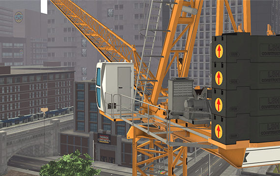 Luffing Tower Crane Simulator