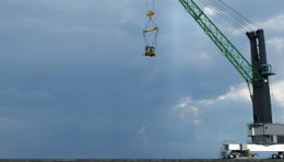 Mobile Harbour Crane Simulator Training Pack | CM Labs