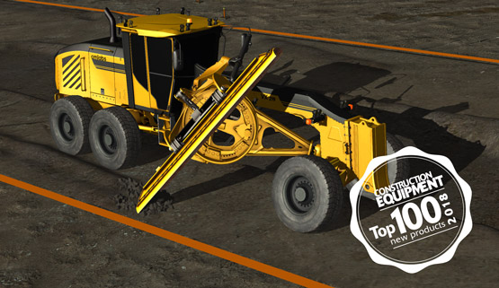 Motor Grader Simulator Pack Wins Product Award