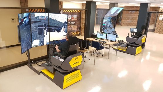 Vortex Simulators Dramatically Reduce On-the-job Training Time for up to 120 Apprentices at OETIO