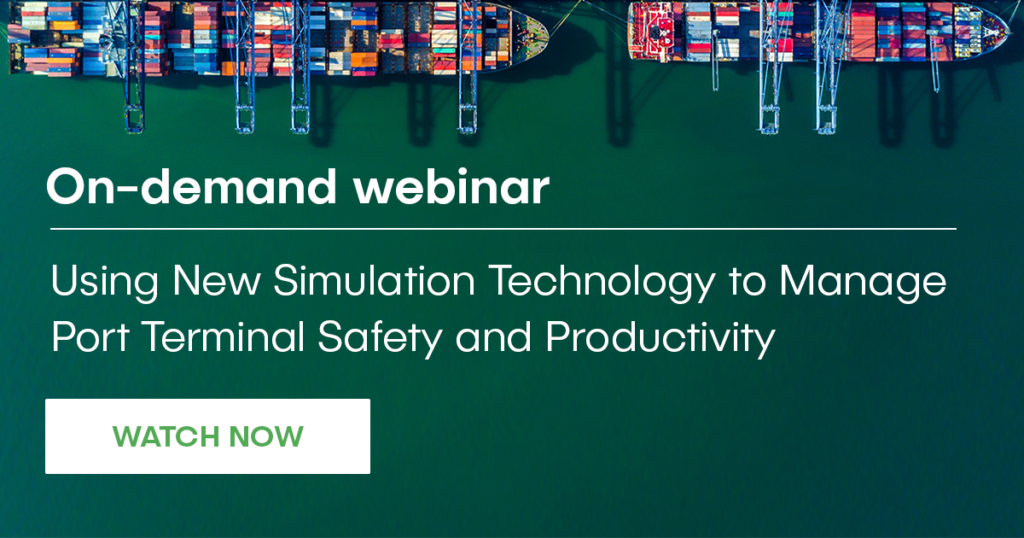 port terminals productivity webinar