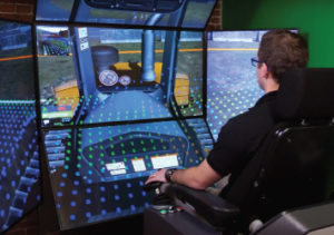 Vortex Earthmoving Simulators