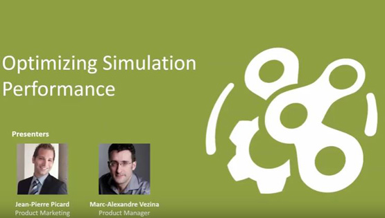 Optimizing Simulation Performance – Vortex University October 2016