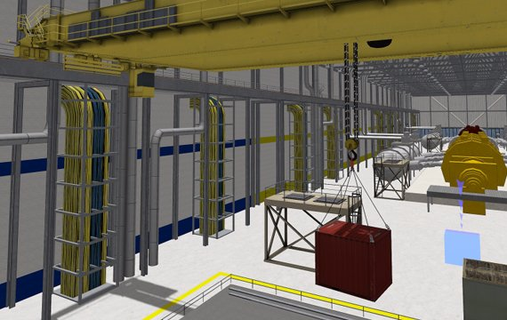 Overhead crane simulator- Learning Program
