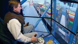 PMA Using Vortex Simulators to Aid Crane Training