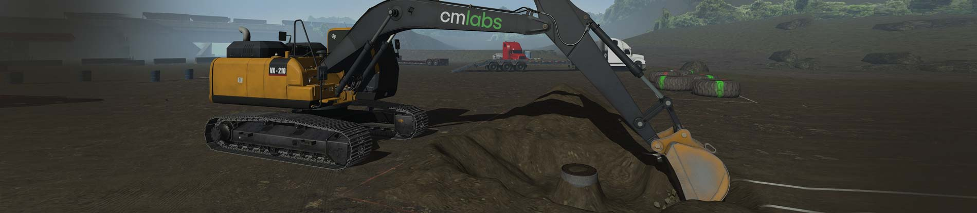 CM labs – Excavator Simulator Training