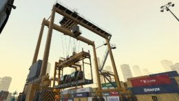 Maritime Professional: New Rubber Tyred Gantry Simulation