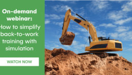 On-demand Webinar: How to simplify back-to-work training with simulation