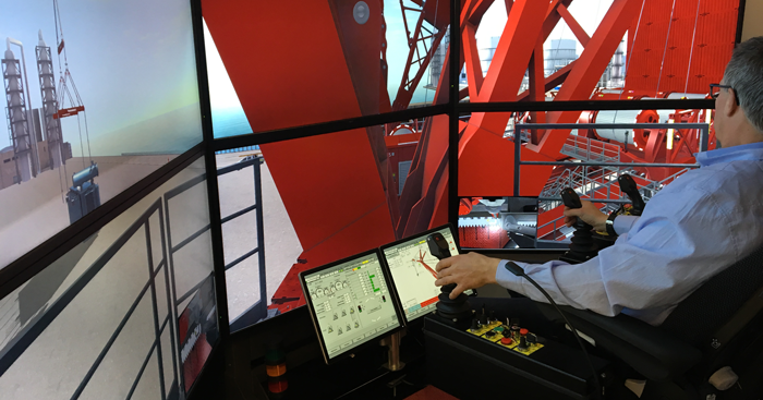 Mammoet Custom Simulator