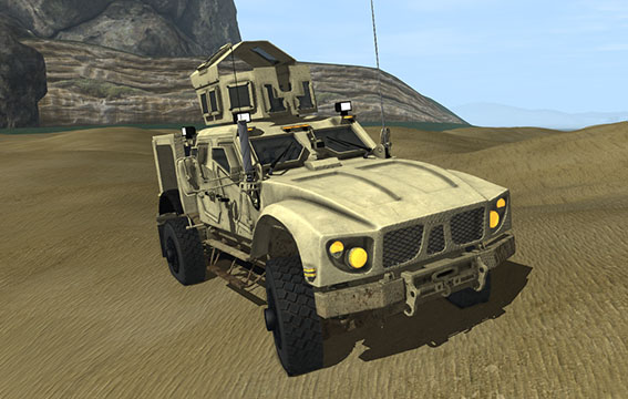 Take Control of Your Training Simulation Projects- Military Vehicles