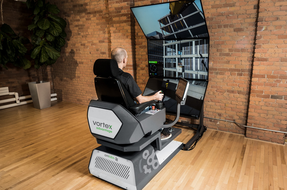 Vortex Advantage training simulator
