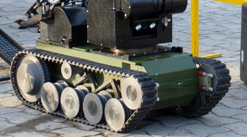Airbus Defence and Space uses Vortex for EOD Robot Training Simulation