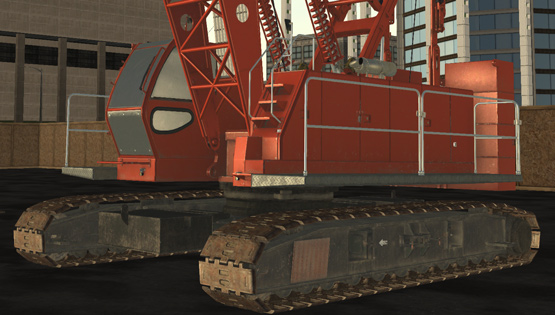 CM Labs Simulations Releases New Crawler Crane Training Module