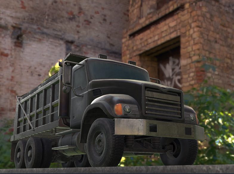 Defense Vehicle Simulation - Heavy equipment