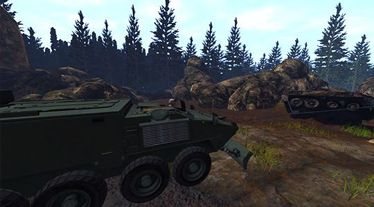 Defense Vehicle Simulation