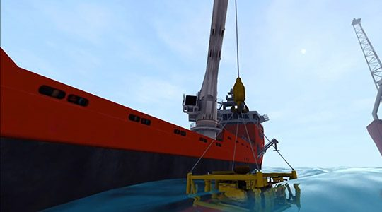 Cables and Lines Simulation for offshore and subsea equipment