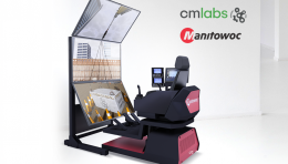 CM Labs Selected by Manitowoc as Training Simulator Partner for Next-Generation Crane Control System