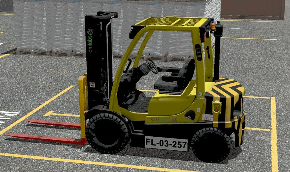 Forklift Simulator Training