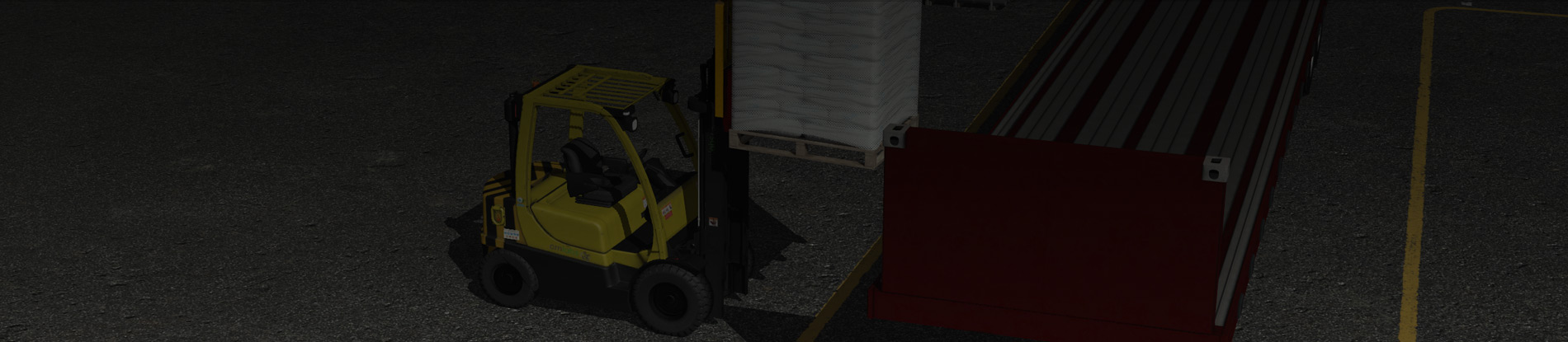 CM labs – Forklift Simulator Training