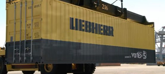Liebherr Crane Training Simulator Powered by Vortex