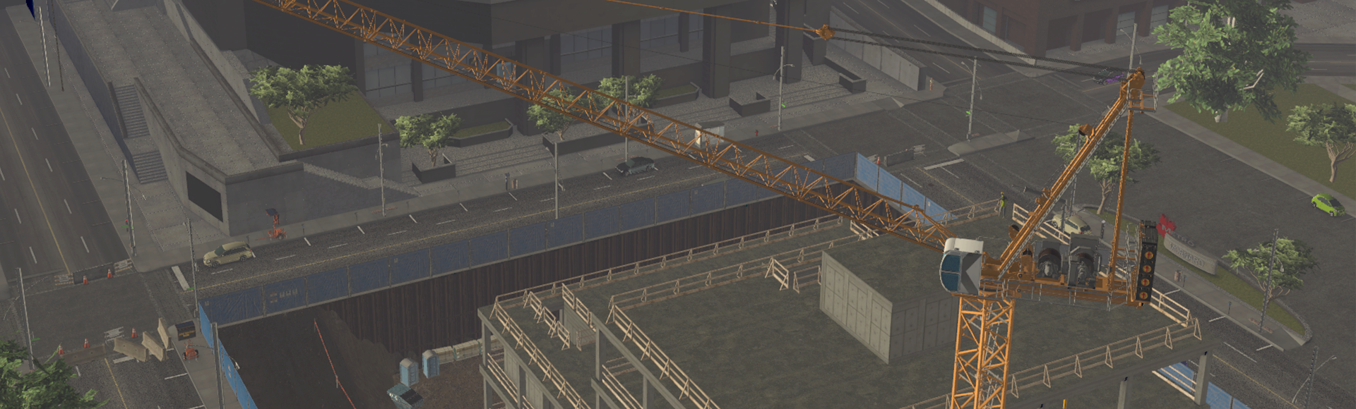 CM labs – Luffing Tower Crane Simulator