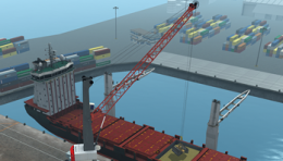 Mobile Harbour Crane Simulator Training Pack