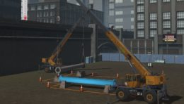 New Mobile Crane Simulator Training Pack from CM Labs Includes Industry's First Tandem Lift Simulation
