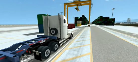 Port RTG Crane Simulation