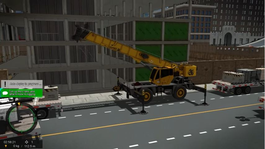 Vortex RT Mobile Crane Training Module