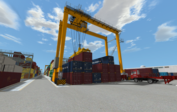 DP World in Official Crane Simulator Launch