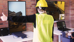 CM Labs Releases Industry's First Simulation-based Crane Signal Person Training Solution