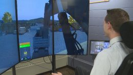 New simulator for city heavy equipment operators unveiled