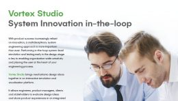 Vortex Studio System Innovation in the Loop