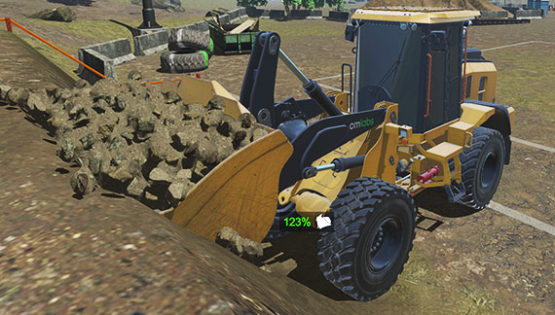 Wheel Loader Simulator Training Pack | CM Labs