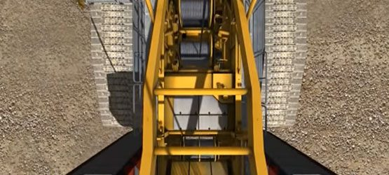 Vortex – Simulation of Wind Turbine Erection with Crawler Crane